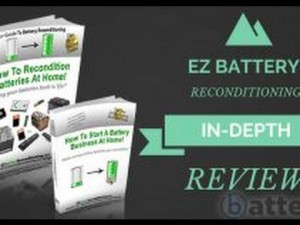Saving Money With EZ Battery Reconditioning Program